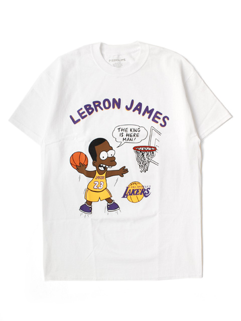 【30%OFF】PizzaSlime LEBRON JAMES TEE