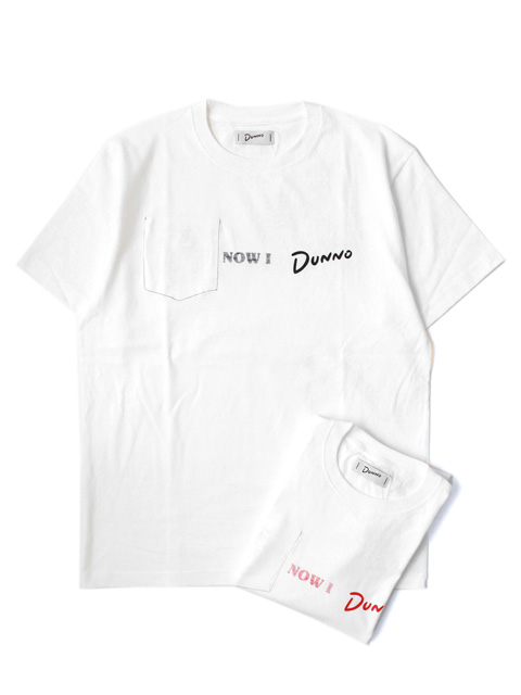 【20%OFF】Dunno Rev Pocket Tee