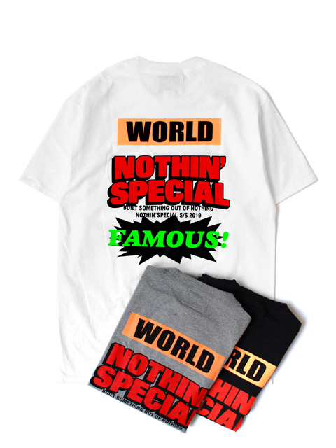 【40%OFF】NOTHIN'SPECIAL WORLD FAMOUS POCKET TEE