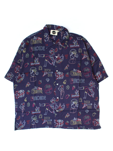 【30%OFF】Boardies Open Collar Shirt  - Band of Outsiders / Sin City -