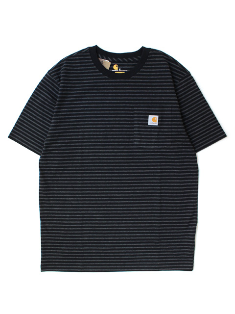 【30%OFF】Carhartt POCKET S/S TEE -BORDER-(半袖)