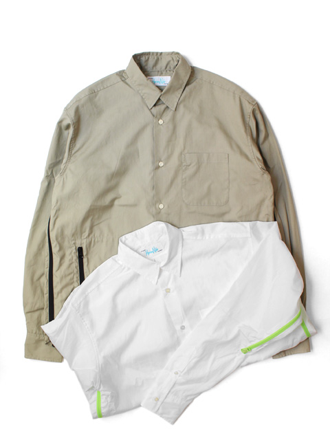 【50%OFF】Hombre Nino VENTILATION SHIRT -Zip Pocket-