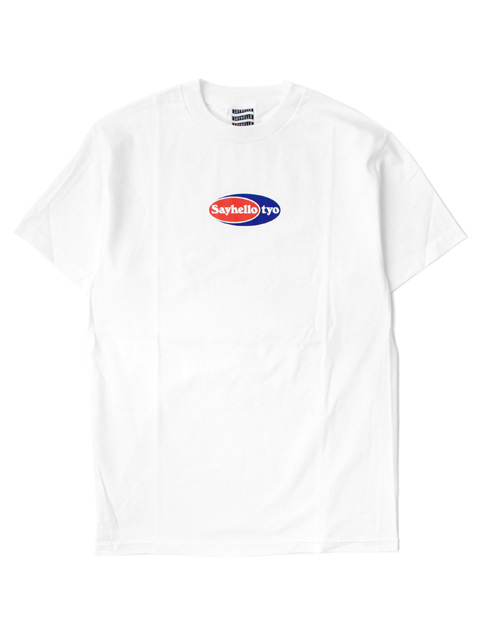 【40%OFF】SAYHELLO POINT LOGO Tee
