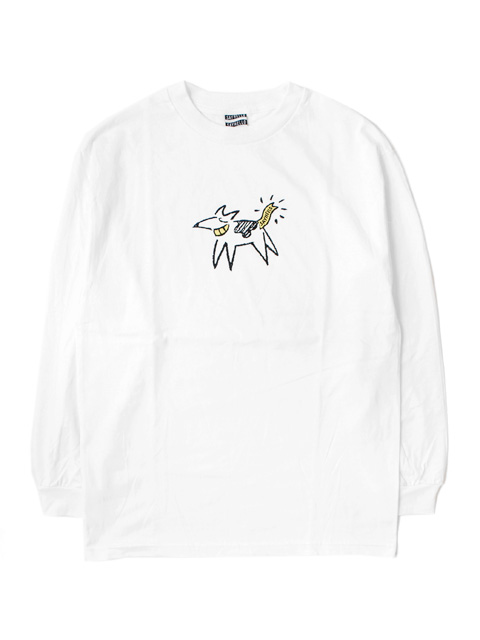 SAYHELLO Dogs Long-Sleeve Tee