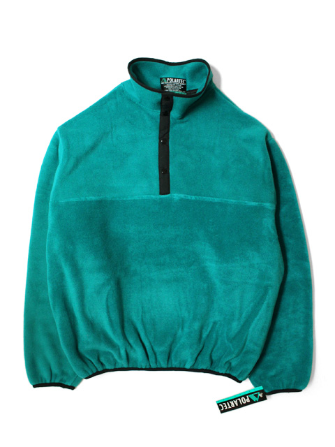 【DEAD STOCK】 SPORTS MASTER POLARTEC 200 FLEECE SNAP-T