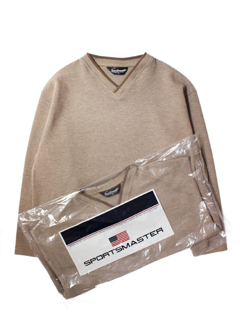 【40%OFF】【DEAD STOCK】 SPORTS MASTER THERMAL SHIRTS