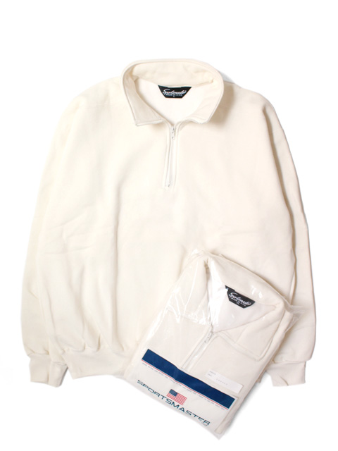 【DEAD STOCK】 SPORTS MASTER H/Z SWEAT SHIRT