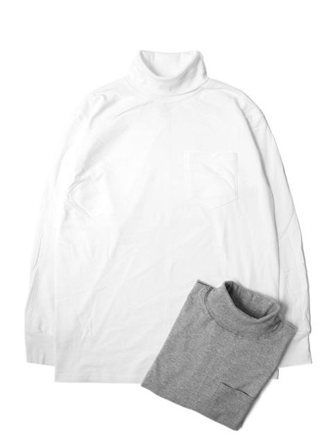 LIFEWEAR Turtle Neck L/S Pocket T-shirts -BASIC-