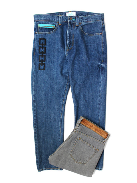 Hombre Nino WASHED DENIM PANTS