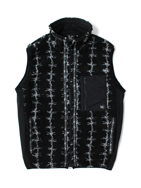 LAST CHANCE RETRO BOA FULL ZIP VEST