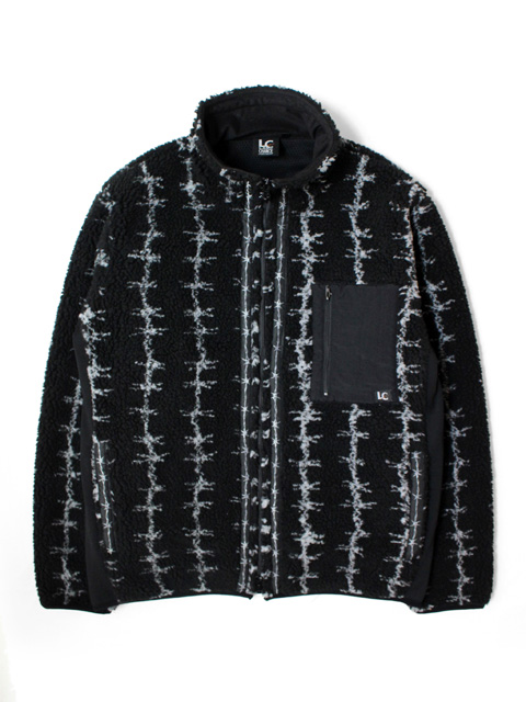 LAST CHANCE RETRO BOA FULL ZIP JACKET