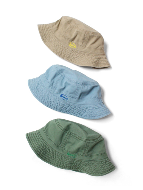 SAYHELLO Cash Logo Washed Cotton Hat