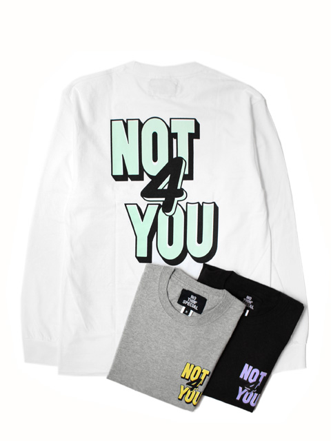【20%OFF】NOTHIN'SPECIAL NOT 4 YOU LONG SLEEVE