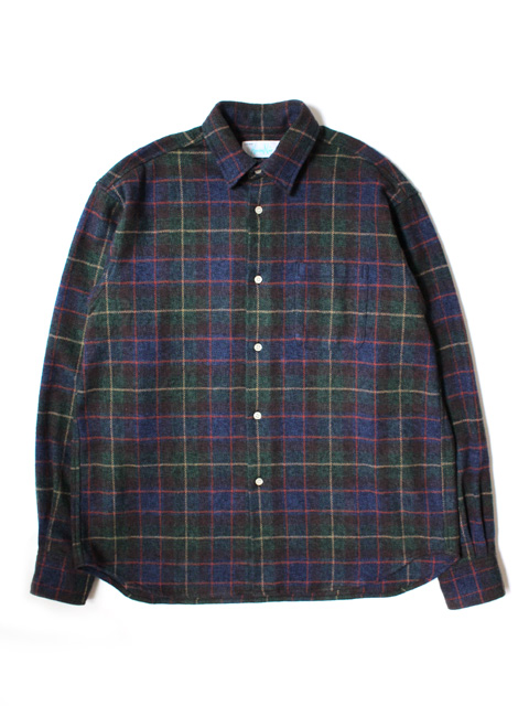【40%OFF】Hombre Nino TWEED PLAID SHIRT