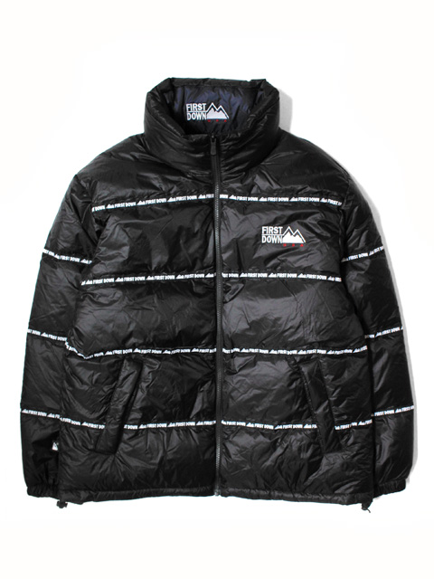 FIRST DOWN REVERSIBLE DOWN JACKET With Tape
