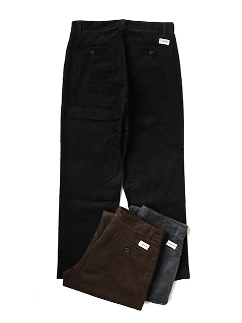 SAYHELLO Daily Work Corduroy Pants -Regular-Fit-