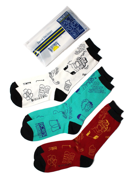 【20%OFF】Nothin'Special x Whimsy WEST SIDE STORY SOCKS