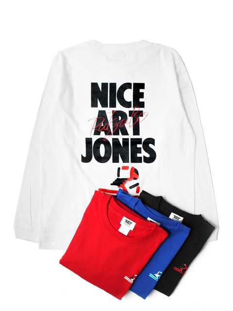 RUTSUBO(坩堝) NICE ART JONES LS T-SHIRTS (RUTSUBO×ALLRAID)