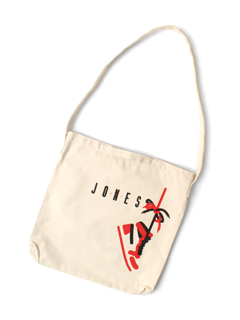 RUTSUBO(坩堝) NICE ART JONES CANVAS SHOULDER BAG (RUTSUBO×ALLRAID)