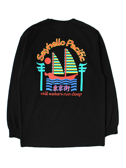 SAYHELLO Pacific Long-Sleeve Tee