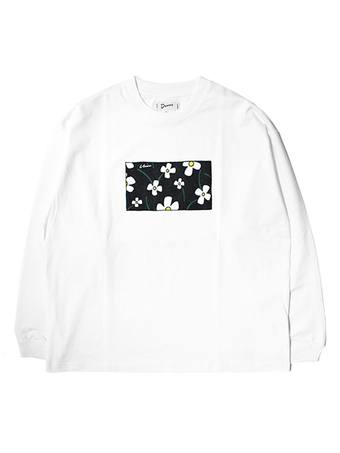 【50%OFF】Dunno Flower LS Tee