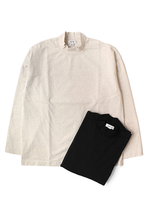 【50%OFF】tone MOCK NECK LS SHIRT