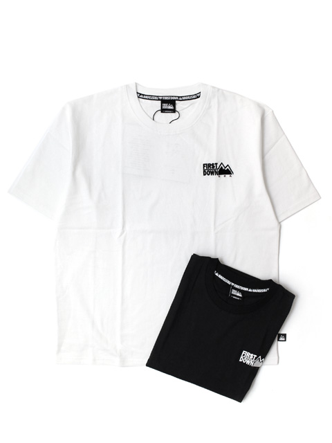【50%OFF】FIRST DOWN One point S/S T-shirt