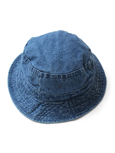 COBRA CAPS Garment Washed Bucket Hat -Denim-