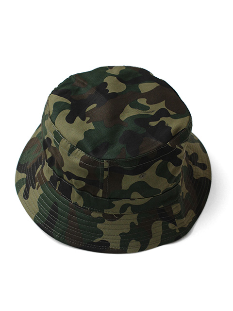 【40%OFF】COBRA CAPS Bucket Hat Camo -Military Green-