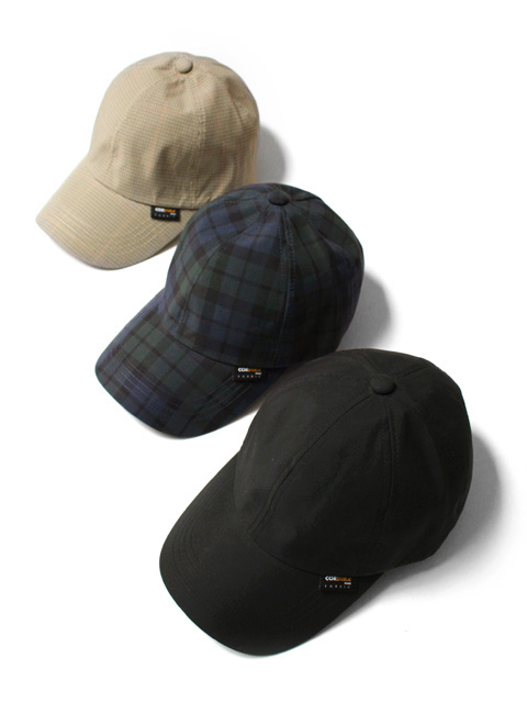 【40%OFF】re:new CORDURA CHECK CAP