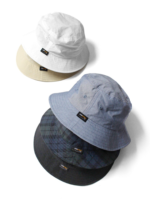 re:new CORDURA CHECK BUKET HAT