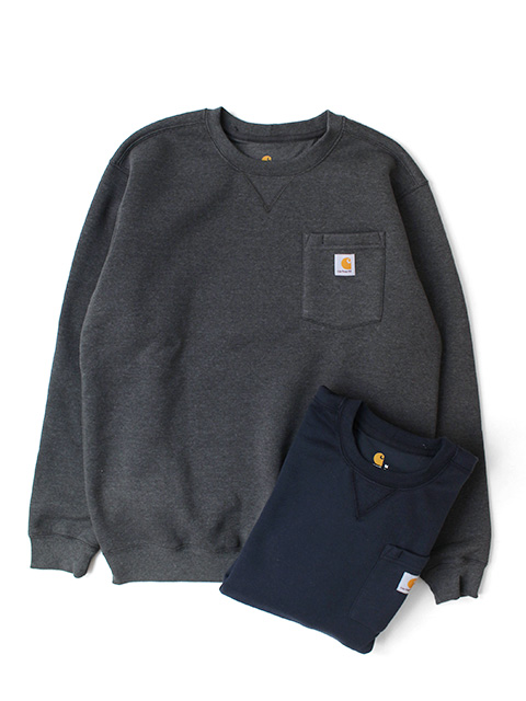 【40%OFF】Carhartt Crewneck Pocket Sweatshirt