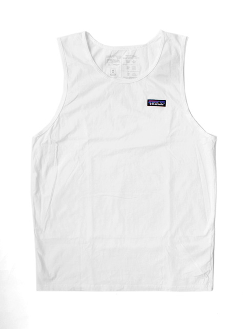 Patagonia MS P-6 LABEL  ORGANIC TANK TOP