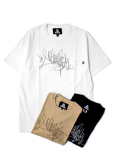【20%OFF】NOTHIN'SPECIAL HANDSTYLE TAG POCKET TEE