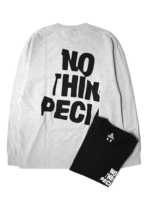 【20%OFF】NOTHIN'SPECIAL WRINKLE LOGO LONG SLEEVE