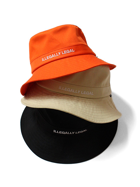 【40%OFF】NOTHIN'SPECIAL ILLEGALLY LEGAL BUCKET HAT
