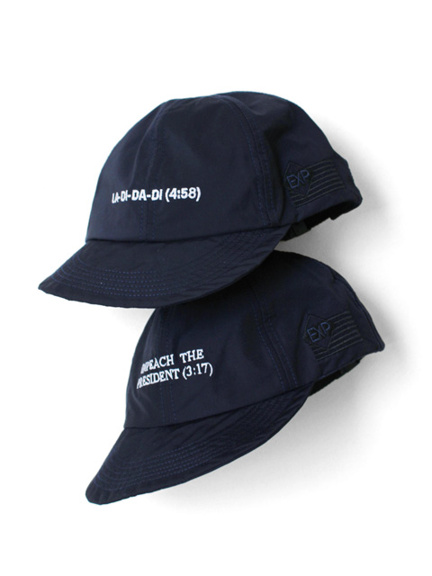 "【20%OFF】EXPANSION CLASSIC 6 PANEL CAP ""IMPEACH""&""LA DI DA DI"""