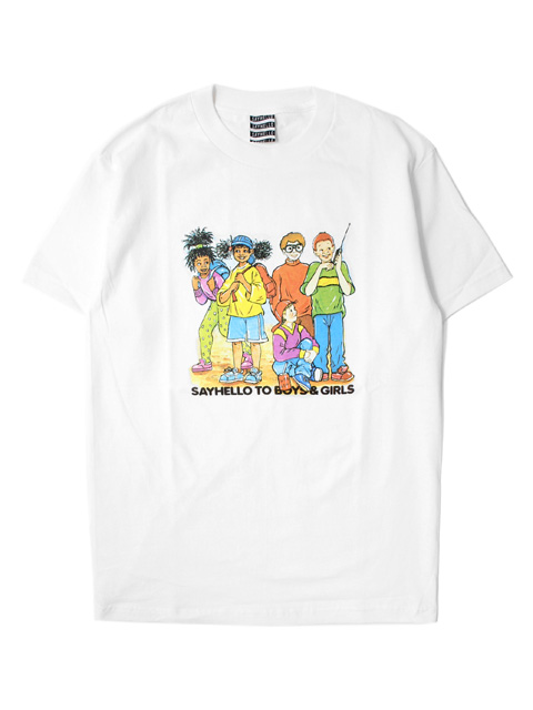 【40%OFF】SAYHELLO Kids S/S Tee