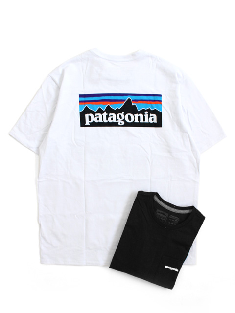 【20%OFF】Patagonia MS P-6 LOGO POCKET RESPONSIBILI TEE