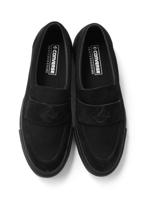 CONVERSE SKATEBOARDING CS LOAFER SK -BLACK-
