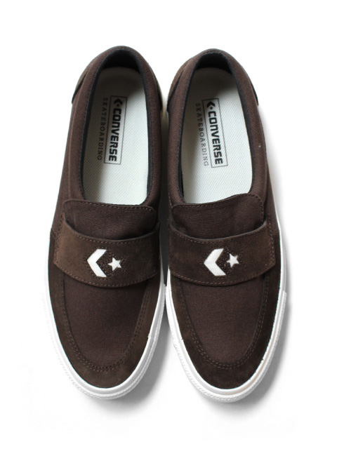 CONVERSE SKATEBOARDING CS LOAFER SK -BROWN-
