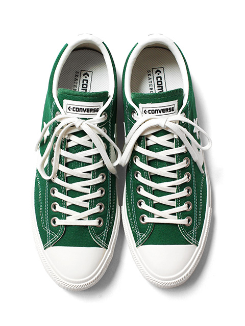 【30%OFF】CONVERSE SKATEBOARDING BREAKSTAR SK CV OX -GREEN-