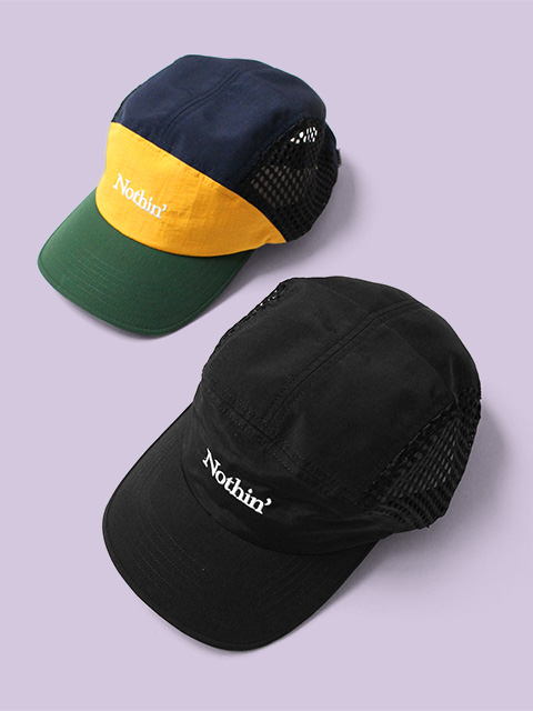 NOTHIN'SPECIAL SIDE MESH NYLON 5-PANEL CAP