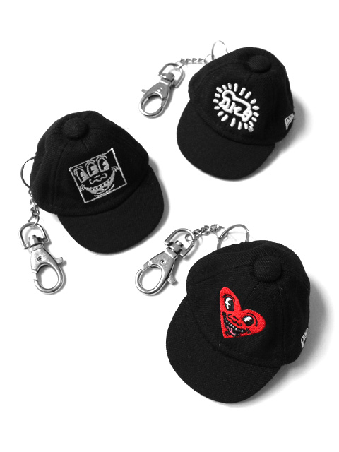 【40%OFF】NEW ERA Keith Haring Cap key ring