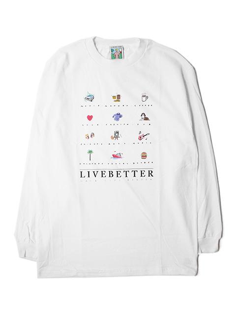 【40%OFF】Live Better SOUVENIR L/S