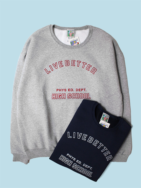 Live Better LB HIGH SCHOOL CREW NECK SWEAT