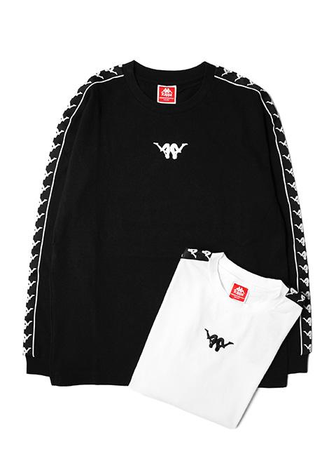 【40%OFF】Kappa UP&DOWN BANDA Long Sleeve T-shirt