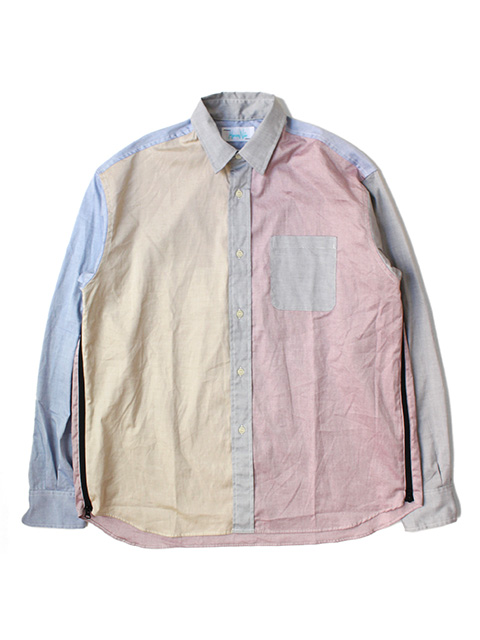 【40%OFF】Hombre Nino CRAZY PATTERN VENTILATION SHIRT