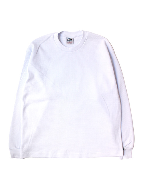 <サイズリメイク>PRO5 THERMAL KNIT TOPS -white-