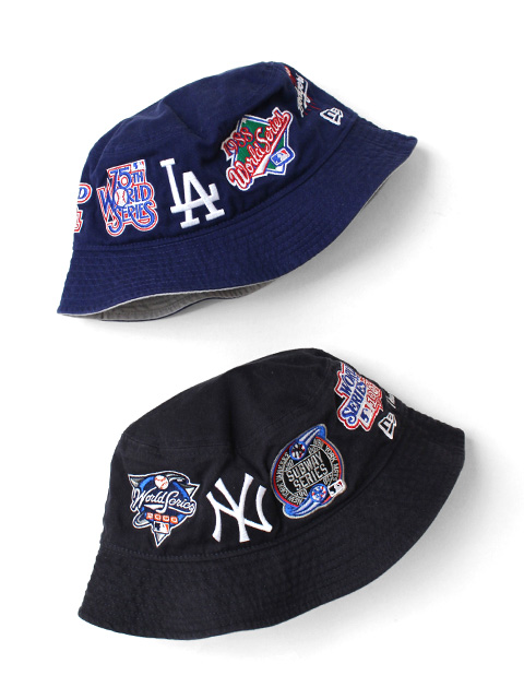 【20%OFF】NEW ERA Bucket 01 MLB Logo All Over